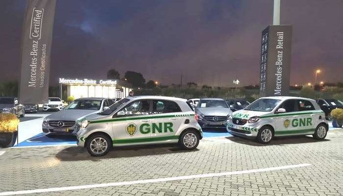 GNR da Lezíria do Tejo recebe viaturas smart elétricas