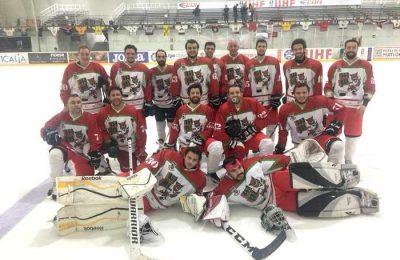 Luso Lynx na Liga Andaluza de Hóquei no Gelo