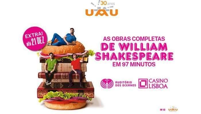 Obras Completas de William Shakespeare em 97 minutos