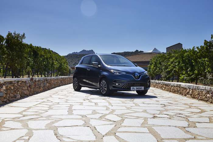 O ZOE da Renault equipado com materiais reciclados