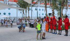 A exclusiva Ocean Cay MSC recebeu os primeiros viajantes