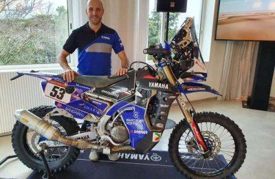 António Maio no Dakar 2020 com Yamaha WR450F Rally