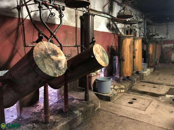 Unidade Fiscal da GNR desmantela destilaria ilegal