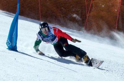 Snowboarder Christian de Oliveira sonha com Pequim 2022