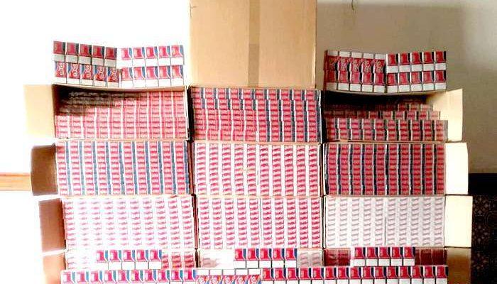 GNR apreende milhares de cigarros por fraude ao fisco