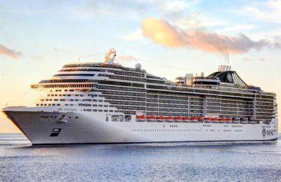 MSC Cruzeiros altera o porto para a partida da Grand Voyage
