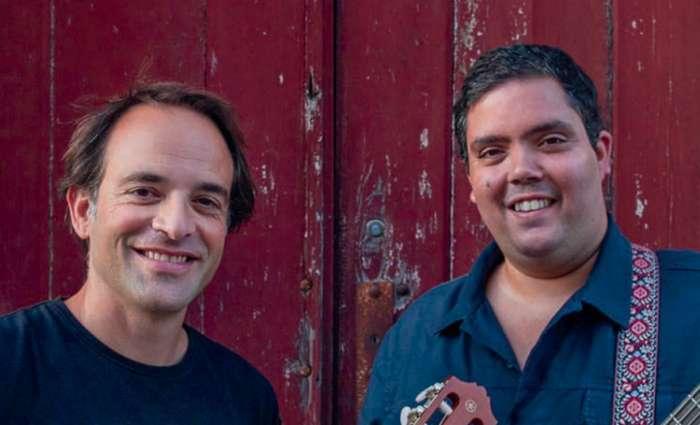 Concerto de André Sardet e João Só em Lagoa no Algarve