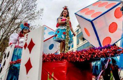 Corso de Carnaval no Pinhal Novo a 25 de Fevereiro