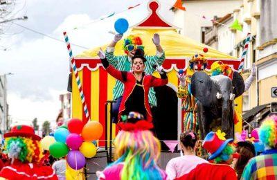 Palmela repete os tradicionais festejos de rua no Pinhal Novo e os bailes de Carnaval nas coletividades do Concelho, palcos da festa e animação na quadra