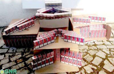 GNR de Coimbra apreende carga de tabaco ilegal