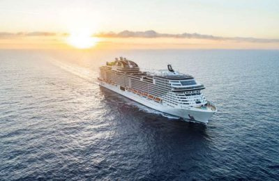 Grand Voyage do MSC Grandiosa com escala em Lisboa