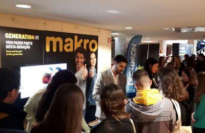 Makro presente nas Feiras de Emprego das Universidades