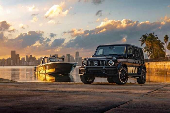 Mercedes-AMG e Cigarette Racing no Miami Boat Show
