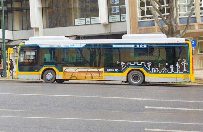 Autocarro 100% elétrico da Carris já circula em Lisboa