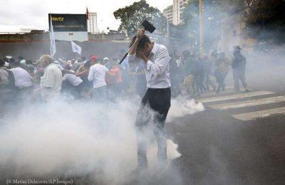 A Venezuela continua a ser um campo de terror ditatorial