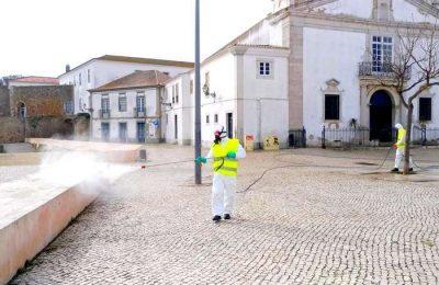 Município de Lagos tem equipas de desinfeção na rua