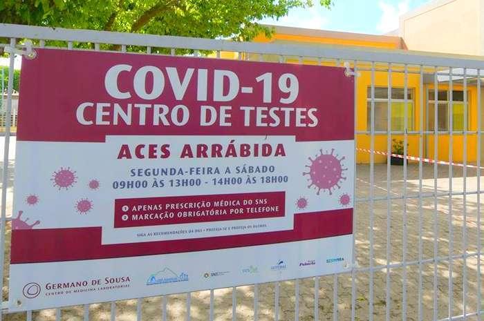 Instalado o Centro de Testes COVID 19 em Setúbal