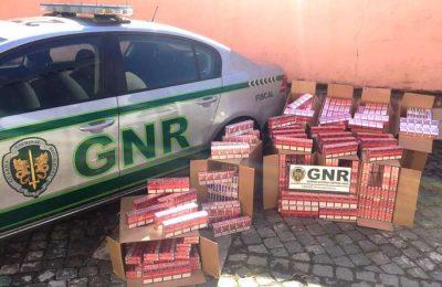 GNR apreendeu cerca de 90 mil cigarros na A1 Santarém