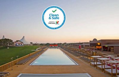 O Eco Resort Zmar foi certificado Clean & Safe