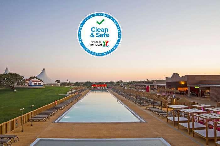 O Eco Resort Zmar foi certificado Clean & Safe