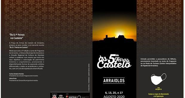 Às 5.ªs Feiras no Castelo de Arraiolos