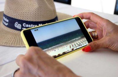 Castro Marim instala Beachcam nas praias do concelho