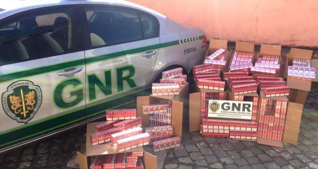 GNR desmantelou rede de comércio ilegal de tabaco