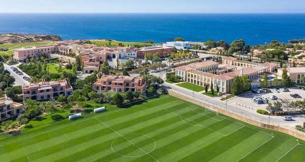 O Bayern Munique tem estado alojado no Cascade Wellness Resort, no Algarve, a preparar os quartos-de-final com o FC Barcelona.