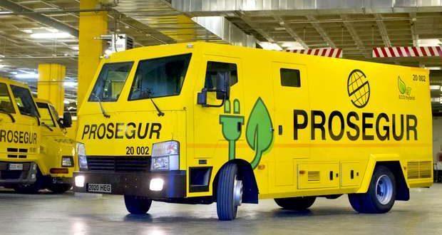 Prosegur introduz veículos híbridos na frota de blindados