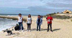 Combate ao lixo marinho recorrendo a drones low cost