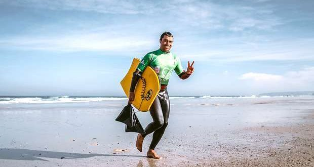 Daniel Fonseca revalidou o título nacional de Bodyboard