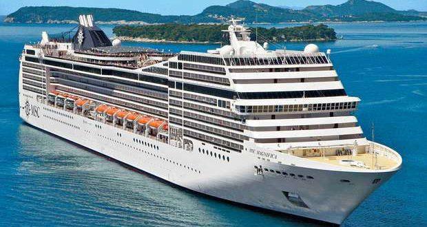 MSC Magnifica já navega em viagem de cruzeiro