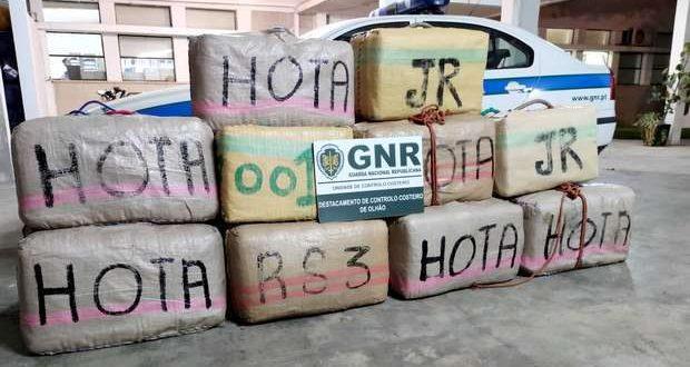 GNR de Olhão interceta um carregamento de haxixe