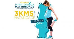 A Maratona da Maternidade este ano corre-se online