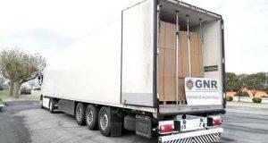 GNR apreende mais de 12 toneladas de folha de tabaco
