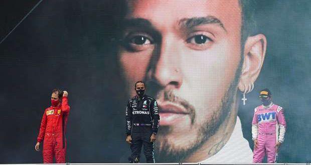 Lewis Hamilton faz história no GP da Turquia em F1