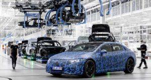 A Mercedes Benz aposta na liderança dos autos elétricos