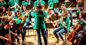 Concerto de Natal pela Orquestra Geração Amadora