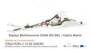 Castro Marim: Projeto da Envolvente à Casa do Sal