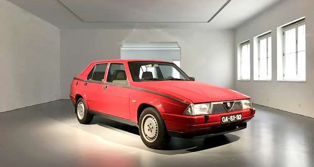 Alfa Romeo 75 Turbo na coleção do Museu do Caramulo