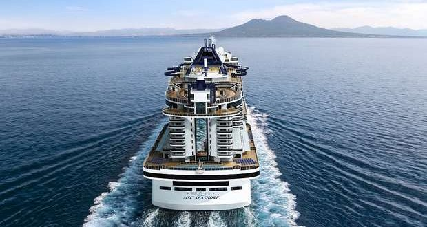 O MSC Seashore vai navegar no Mediterrâneo em Agosto