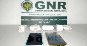 Navegavam no Guadiana com 2.500 doses de cocaína