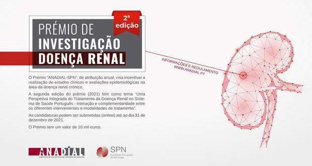 """Candidaturas ao Prémio de Investigação """"ANADIAL-SPN"""""""
