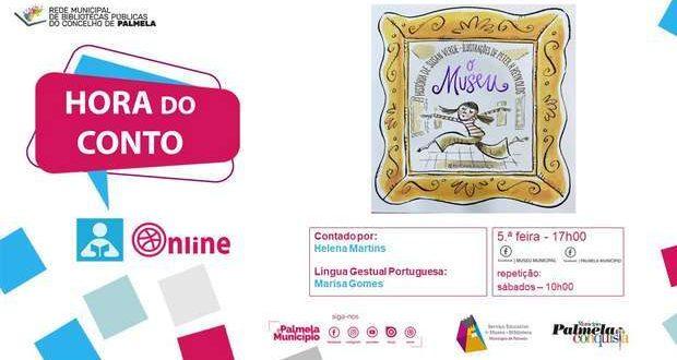 """""""Hora do Conto"""" celebra Dia Internacional dos Museus"""