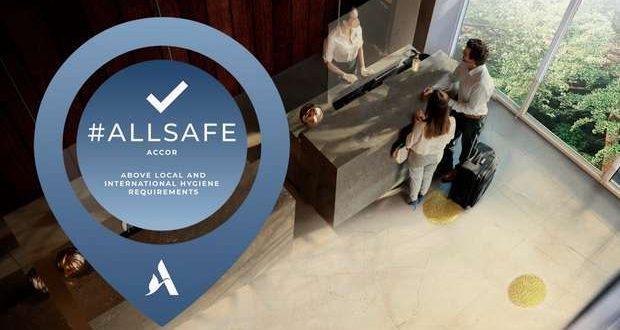 Accor certifica 1000 hotéis com o selo ALLSAFE
