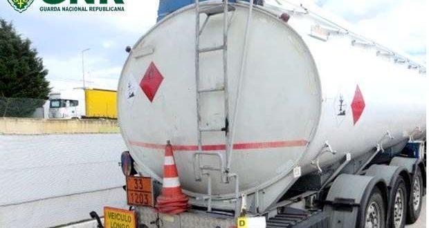 GNR apreende milhares de litros gasóleo ilegal