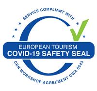 Hotéis NAU certificados com o European Safety Seal