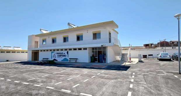 Reabriu renovado o Parque de Campismo da Ilha de Faro