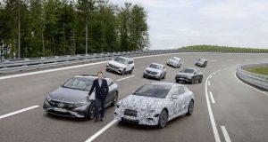 A Mercedes Benz prepara portfólio de modelos elétricos