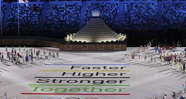 Judocas portugueses na abertura dos Jogos Olímpicos